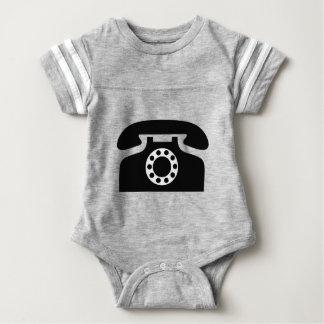 Rotary Phone Baby Bodysuit