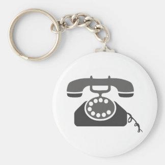 Rotary Phone Keychains