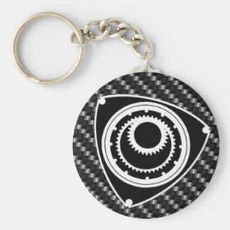 rotary  rx rx8 mazda basic round button key ring