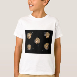 Rotating Brains with Magnifyer T-shirt