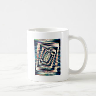 Rotating Grunge Rectangle Coffee Mug