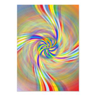 Rotating Rainbow Card