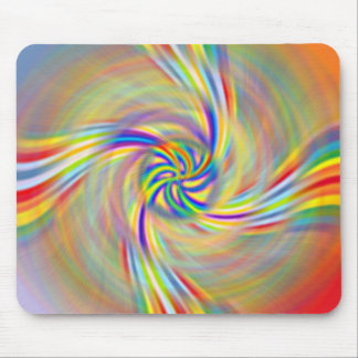 Rotating Rainbow Mousepad