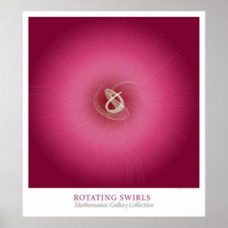 Rotating Swirls Poster