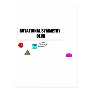 Rotational Symmetry Postcard