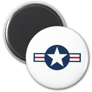 Rothco Military Style Air Corp 6 Cm Round Magnet