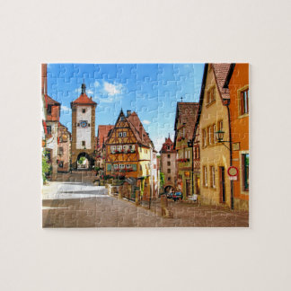 ROTHENBURG, GERMANY JIGSAW PUZZLE