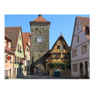 Rothenburg, Germany Post Card