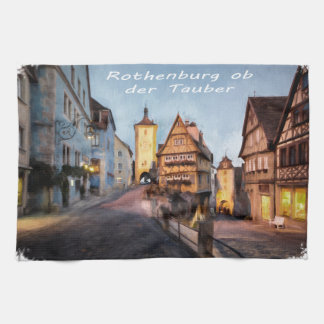 Rothenburg ob der Tauber Tea Towel