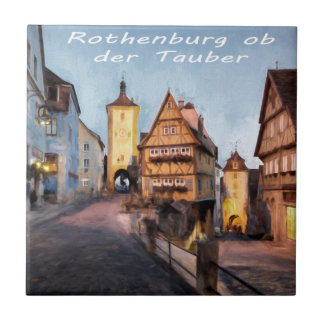 Rothenburg ob der Tauber Tile