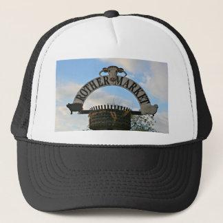 Rother Market sign, Stratford, England Trucker Hat