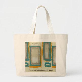 Rothko Inspired Abstract Jumbo Tote Bag