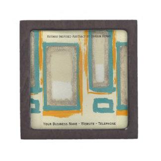Rothko Inspired Abstract Premium Keepsake Box