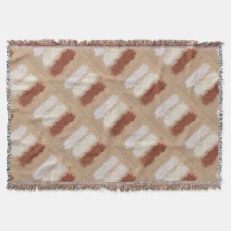 Rothko Inspired Spiced Berry Canyon Dusk Throw Blanket