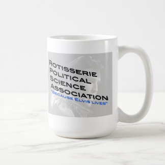 Rotisserie Political Science Coffee Cup Basic White Mug