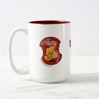 ROTTEN TO THE CORE Two-Tone COFFEE MUG