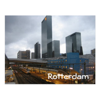 Rotterdam Central Station Postcard