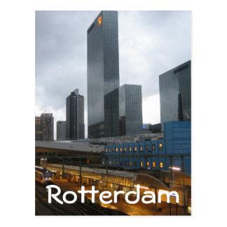 Rotterdam Central Station Postcard