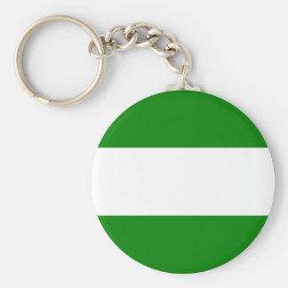 rotterdam city flag netherlands symbol keychain