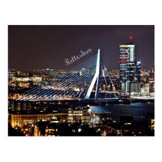 Rotterdam Cityscape Postcard