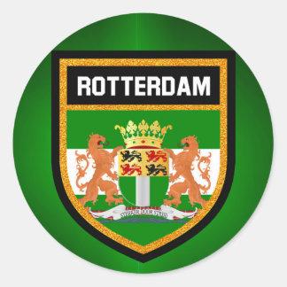 Rotterdam Flag Classic Round Sticker