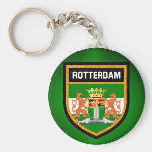 Rotterdam Flag Key Ring