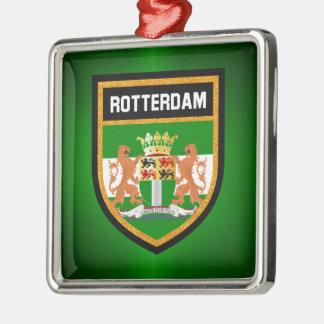 Rotterdam Flag Metal Ornament