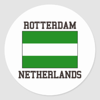 Rotterdam Netherlands Classic Round Sticker