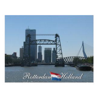 Rotterdam Skyline Holland Postcard