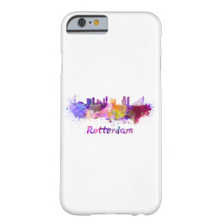 Rotterdam skyline in watercolor barely there iPhone 6 case