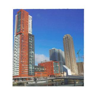 Rotterdam Skyline Notepad