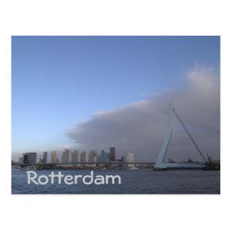 Rotterdam skyline postcard