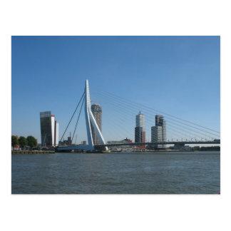Rotterdam Skyline River Photo Postcard