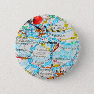 Rotterdam, The Netherlands 6 Cm Round Badge
