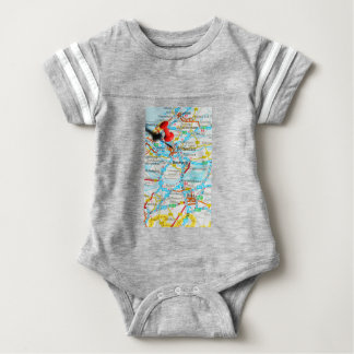 Rotterdam, The Netherlands Baby Bodysuit