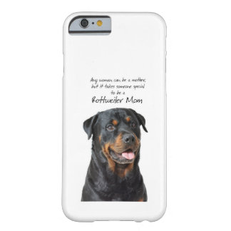 Rottie Mom iPhone 6 case Barely There iPhone 6 Case
