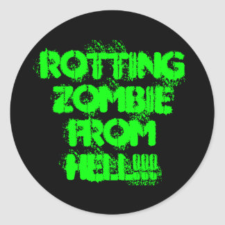 Rotting Zombie Sticker