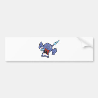 rotton candy character bumper stickers