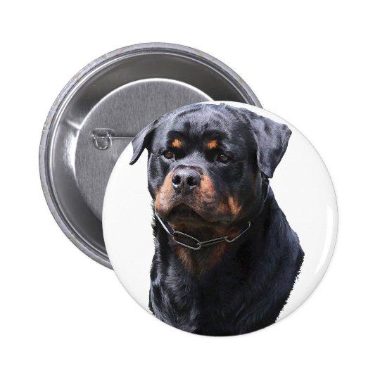 Rottweiler 6 Cm Round Badge