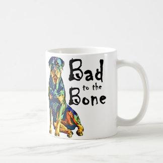 Rottweiler - Bad to the Bone Coffee Mug