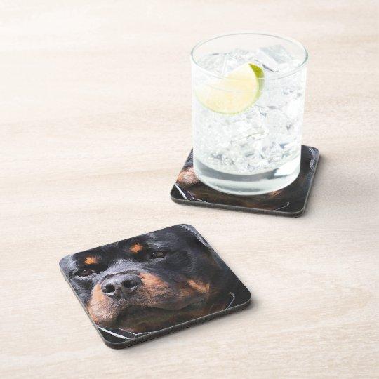 Rottweiler Beverage Coaster