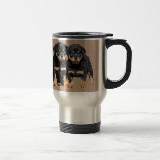 Rottweiler Buddies Travel Mug