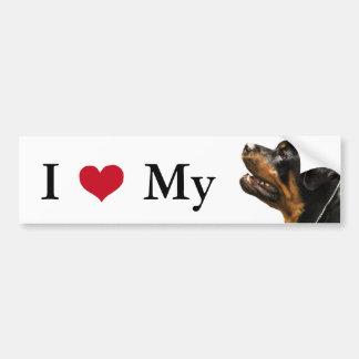 Rottweiler Bumper Sticker