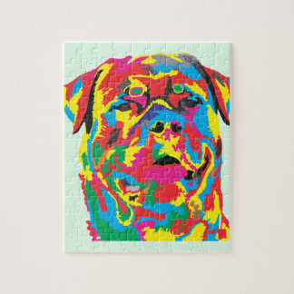 rottweiler color puzzle