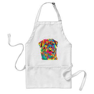 rottweiler color standard apron