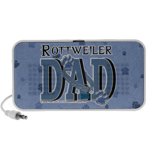 Rottweiler DAD Travel Speakers