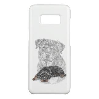 Rottweiler Dog Art Case-Mate Samsung Galaxy S8 Case