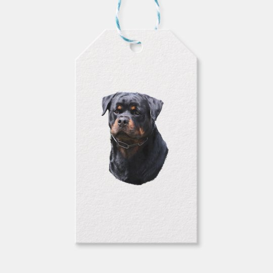Rottweiler Gift Tags