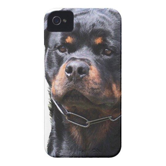 Rottweiler iPhone 4 Case-Mate Case