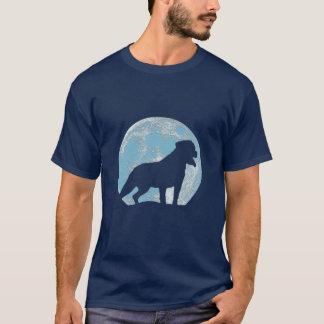 Rottweiler Moon T-Shirt